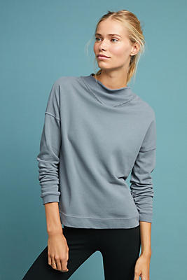 Slide View: 1: Sydney Mock Neck Pullover