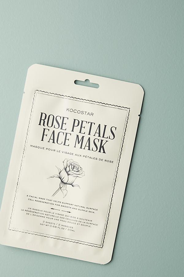 Kocostar Rose Petal Face Mask - Red