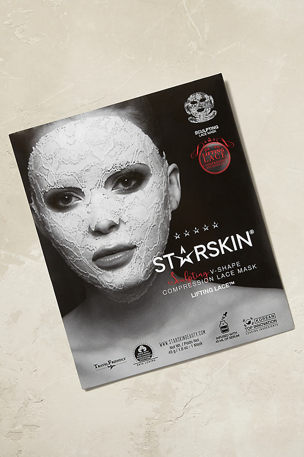 Starskin Lace Masks - Grey