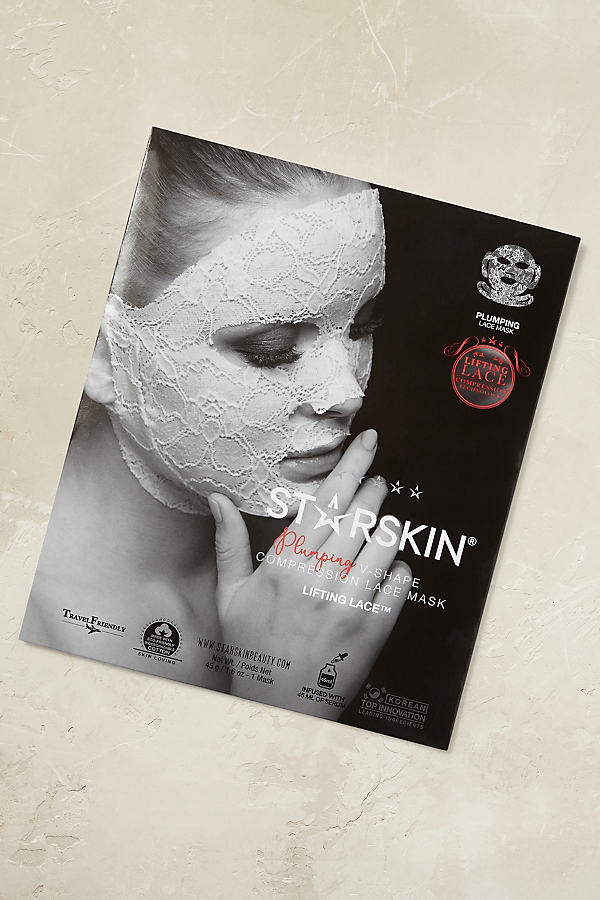 Starskin Lace Masks - Dark Grey