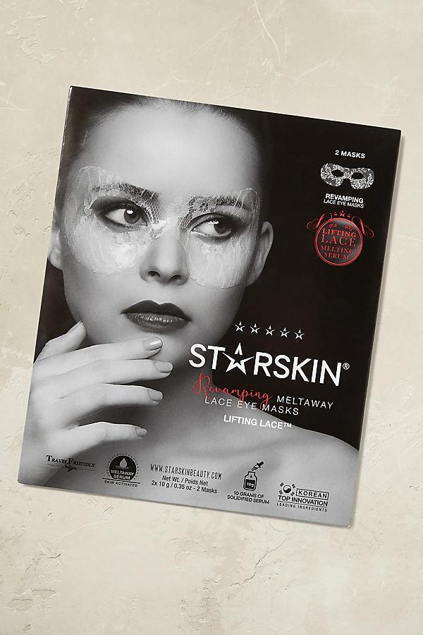 Starskin Lace Masks - Silver