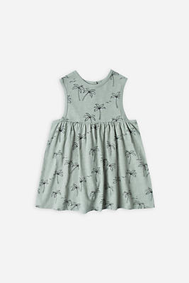 Slide View: 2: Rylee + Cru Palm Trees Layla Dress