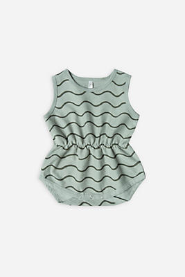 Slide View: 1: Rylee + Cru Rolling Waves Playsuit