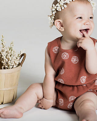 Slide View: 4: Rylee + Cru Sand Doller Playsuit