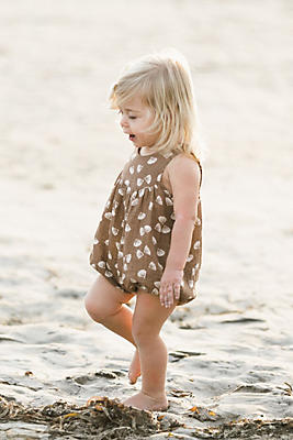Slide View: 1: Rylee + Cru Seashell June Romper