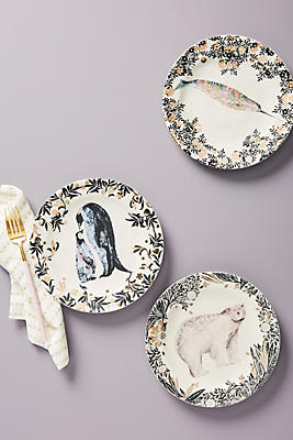 Slide View: 3: Arctic Dessert Plate