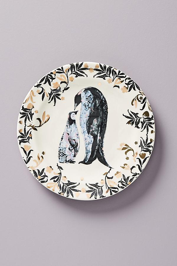 Arctic Dessert Plate - Black, Size Dst Plate