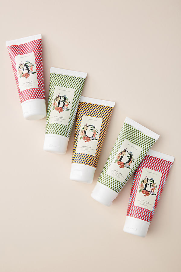 Holiday Monogram Hand Cream - Assorted, Size L