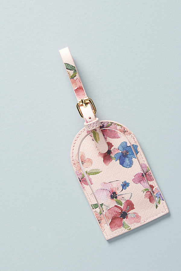 Whitney Travel Luggage Tag - Pink, Size S