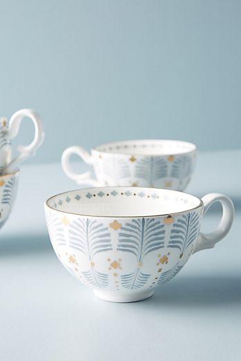 Set Of 4 Biba Mugs