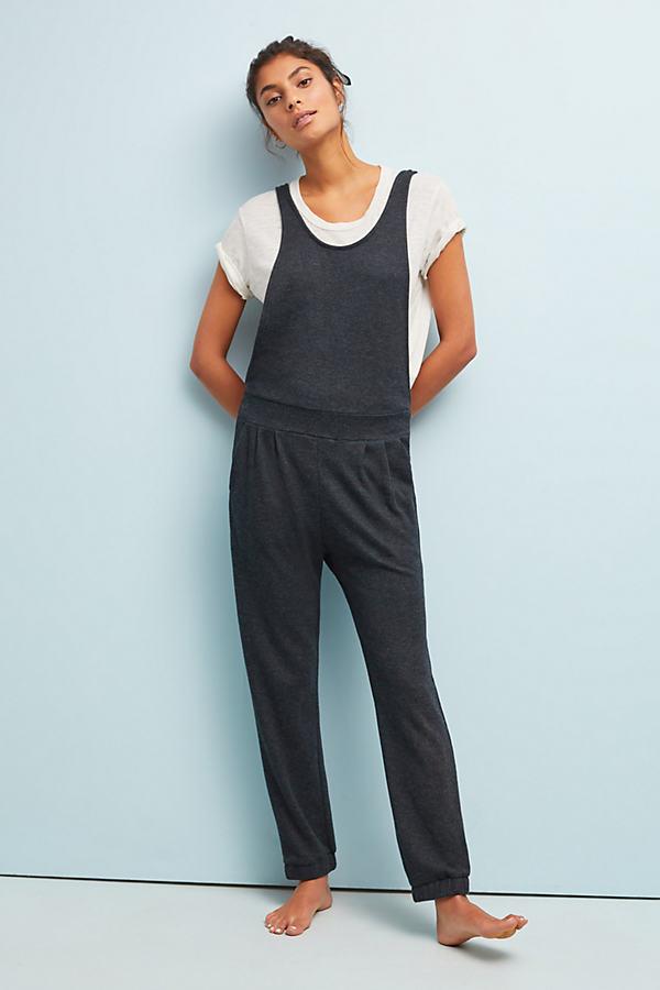 Sol Angeles Birdseye Jumpsuit - Grey, Size S