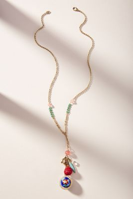 Lisbon Charm Necklace by Anthropologie