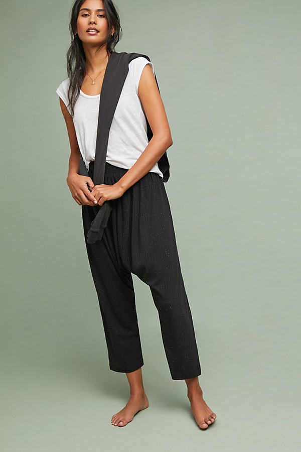 Brunch Lounge Trousers - Black, Size Xl