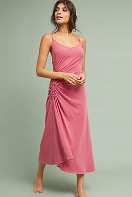 Slide View: 1: Sundry Ruched Ruby Dress