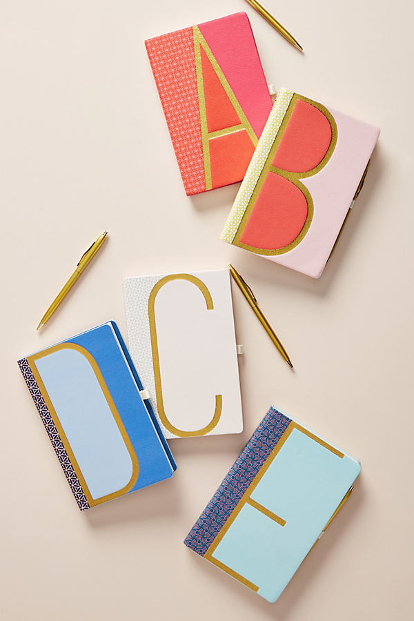 Monogram Journal - Assorted, Size N