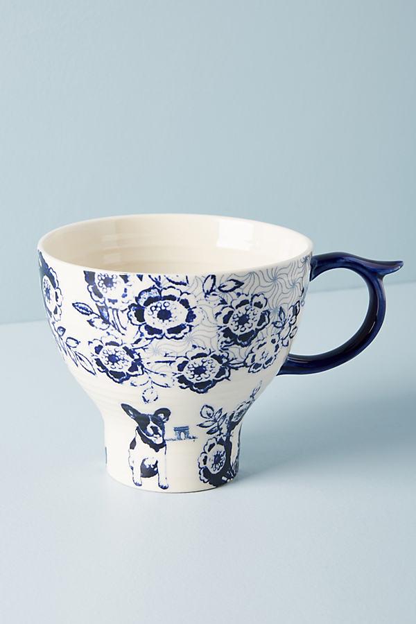 Menagerie Mug - Blue, Size Mug