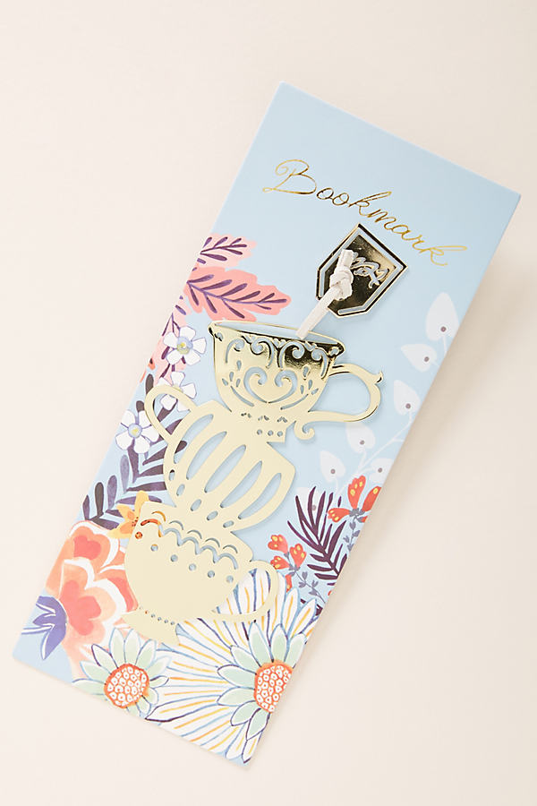 Curiosity Bookmark - Gold