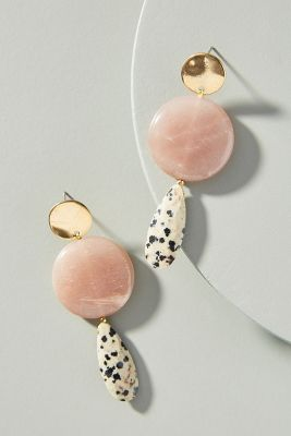 Jasper Drop Earrings by Anthropologie