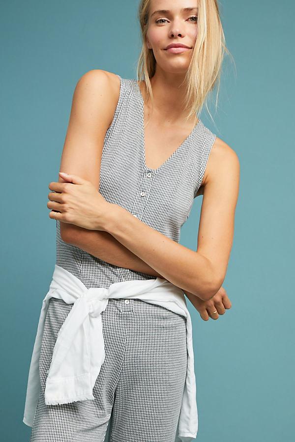 Sardinia Jumpsuit - Grey, Size S
