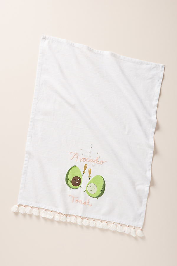 Avocado Toast Dish Towel - Assorted, Size Dishtowel