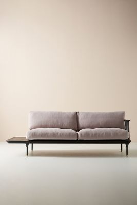 Kalmar Sofa With Side Table by Anthropologie