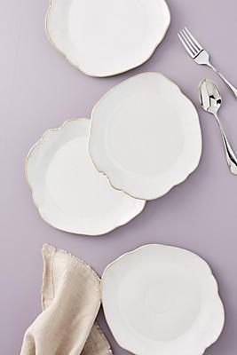 Slide View: 1: Isobel Side Plates, Set of 4