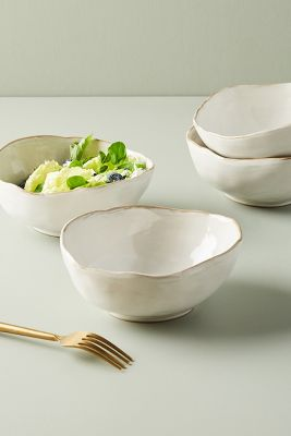 Isobel Cereal Bowls, Set Of 4 by Anthropologie