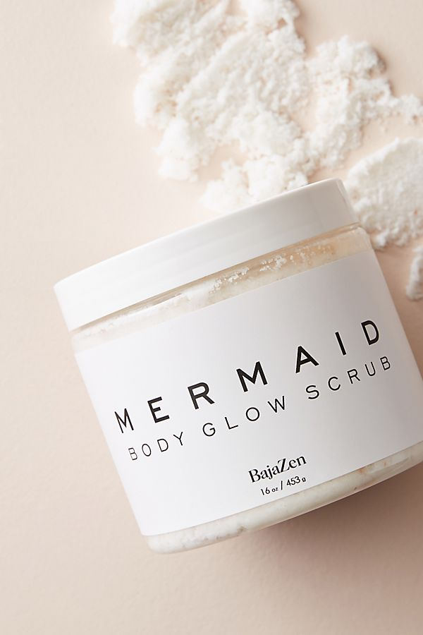 Baja Zen Mermaid Glow Body Buff Scrub | Anthropologie