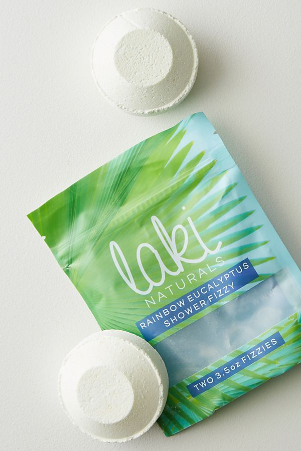 Laki Naturals Shower Fizzies | Anthropologie