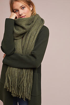 Anthropologie Cozy Blanket Scarf