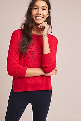 Slide View: 1: Sundry Star Sweater