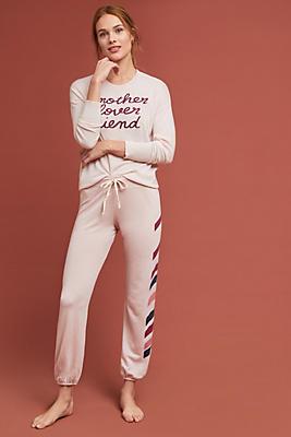 Slide View: 1: Sundry Tonal Striped Sweatpants