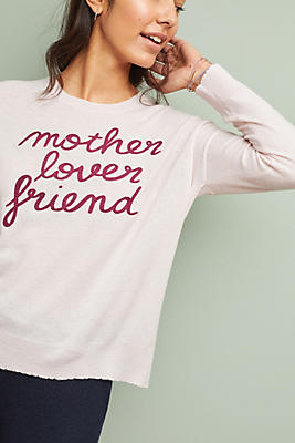 Sundry Mother Lover Friend Sweater by Sundry