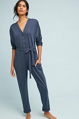 Slide View: 1: Terry Jumpsuit
