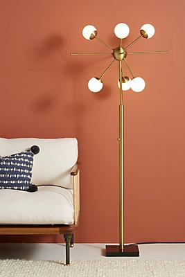Slide View: 1: Doppler LED Floor Lamp