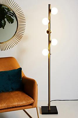 Slide View: 1: Doppler LED Tree Floor Lamp