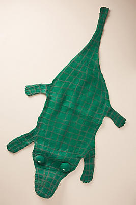 Slide View: 1: Crocodile Rug