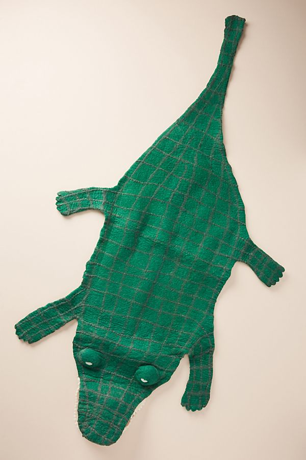 Slide View: 1: Crocodile Rug