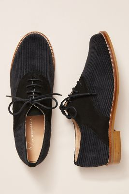 5e3a151b381 Anthropologie Corduroy Oxford Loafers  138