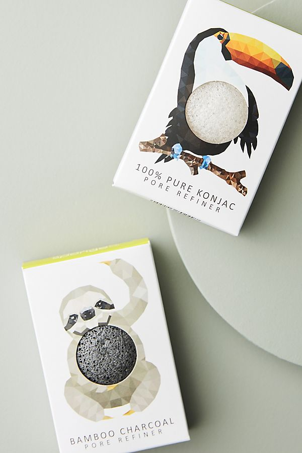 The Konjac Sponge Co. Mini Pore Refiner Sponge | Anthropologie