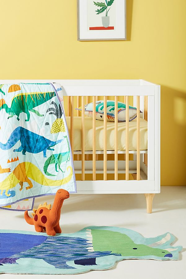 Slide View: 4: Natasha Durley Dinosaur Dreams Kids Sham