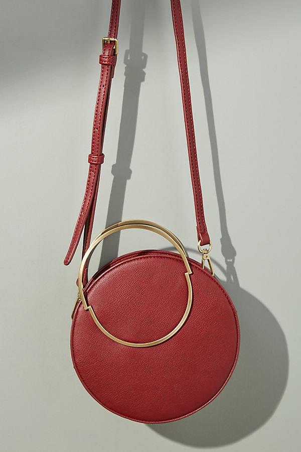 Winifred Circle Crossbody Bag - Purple