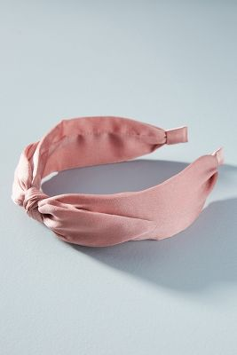 Duchess Bow Tied Headband by Anthropologie