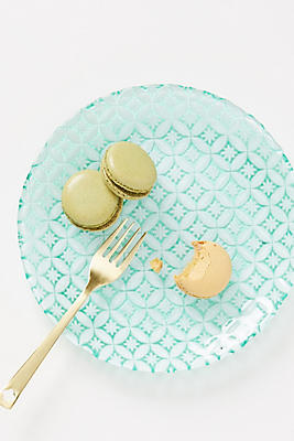 Slide View: 1: Lele Canape Plates, Set of 4