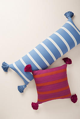 Slide View: 2: Striped Wilda Pillow