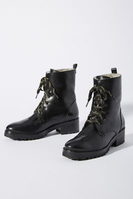 Freda Salvador Lace Up Hiker Boots by Freda Salvador