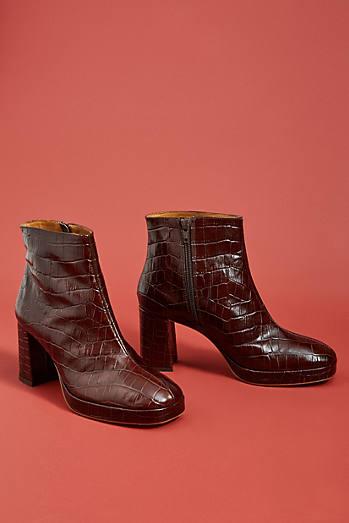 Miista Edith Embossed Boots