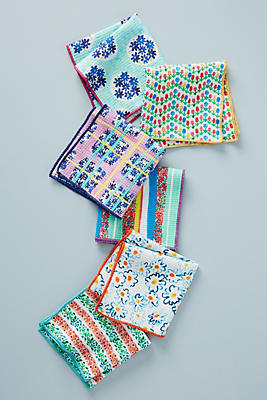 Slide View: 1: Gabriella Dishcloths, Set of 6