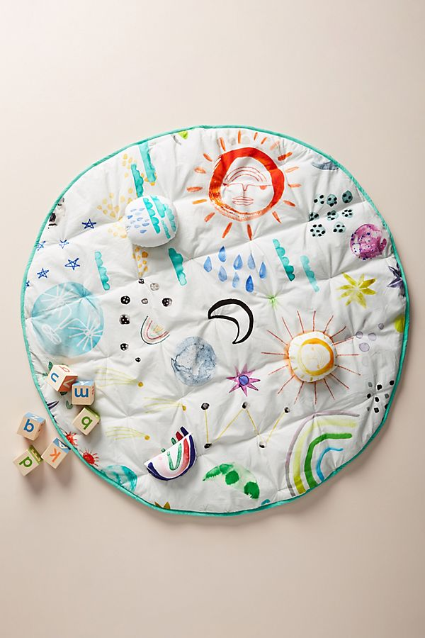 Slide View: 1: Katie Vernon Out of This World Play Mat