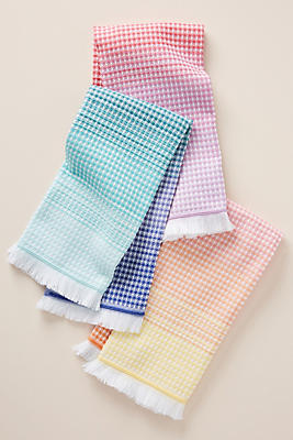 Slide View: 1: Lillian Dish Towels, Set of 3